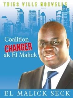 Thiès : El Malick Seck promet de défaire le maire sortant