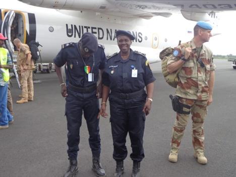 Tournée africaine du DGPN: Anna Sémou Faye à Abidjan