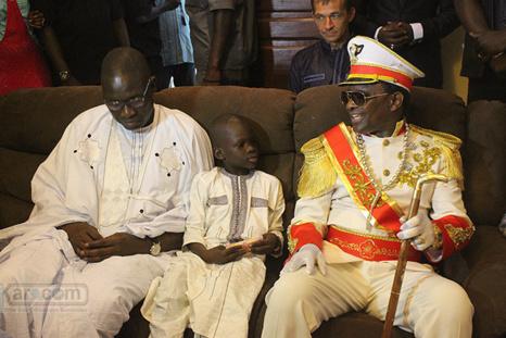 Photos - Retrouvailles entre Cheikh Ahmadou Kara Mbacké et son cousin Ibrahima Sall