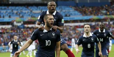 Festival de buts à Salvador: La France s'impose 5-2 face à la Suisse