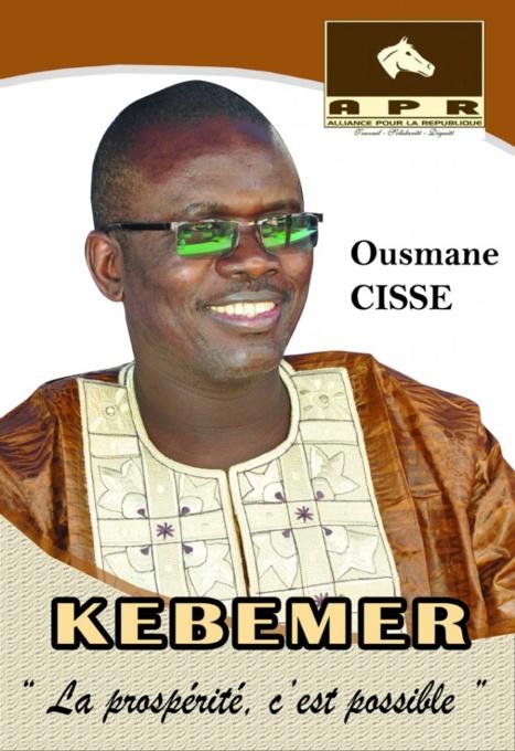 """Tête de liste majoritaire de """"BBY"""" de Kébémer : Ousmane Cissé décline aux populations ses dix engagements, pour redonner vie à la Commune"""