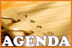 Agenda électoral du lundi 23 juin 2014