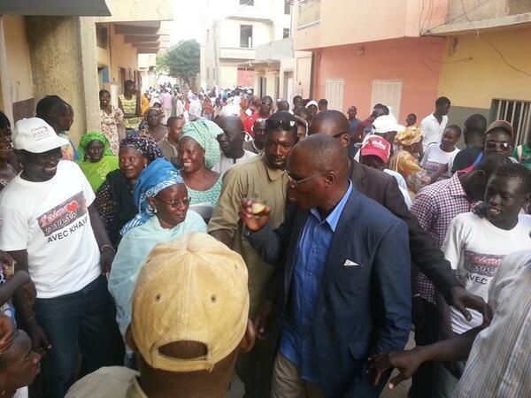 Contentieux pré-électoral : Khalifa Sall dénonce des velléités de fraude