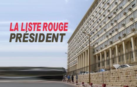 La liste rouge du Président
