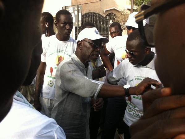 Campagne pour les Locales du 29 juin: Pierre Sané prône la non-violence