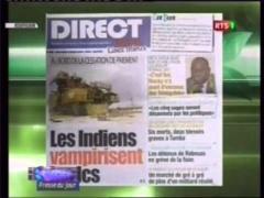Revue de presse du mercredi 25 juin 2014 - RTS1