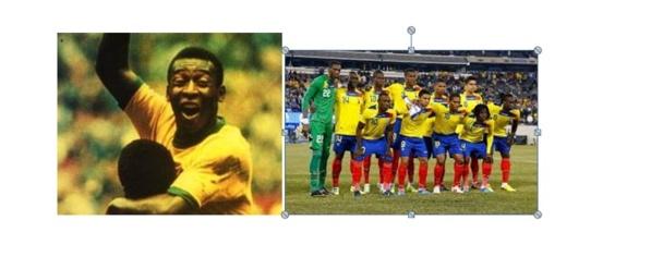 Le cosmopolitisme racial de la coupe du monde Brésil 2014.