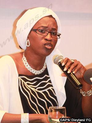 Zahra Iyane Thiam s'en prend vertement au ministre-conseiller Ablaye Sally Sall et a la ministre de la femme Dr Anta Sarr
