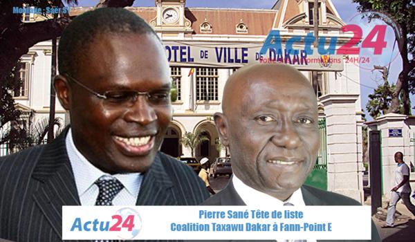 Commune de Fann- Point E-Amitié: ça chauffe entre Taxawu Dakar de Pierre Sané et Taxawal Dakar de Mamadou Lamine Diallo!