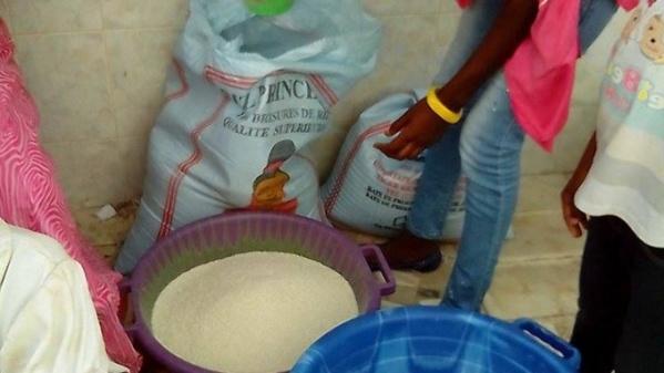 Achat de conscience à Grand Yoff : Le pouvoir distribue du riz et du sucre