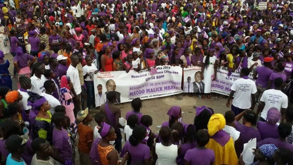 Incroyable mais vrai : Quand Maodo Malick Mbaye et Alioune Diop colorent  la promenade en mauve