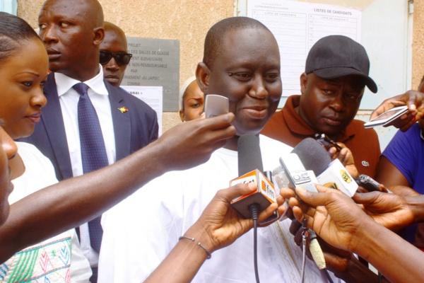 Audio - Guédiawaye : Aliou Sall gagne et salue l'intelligence et le maturité des populations