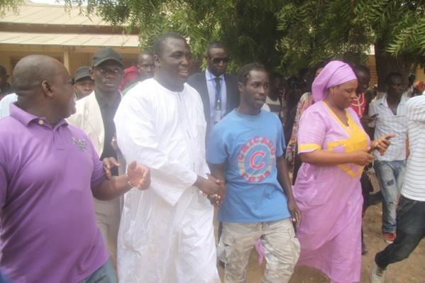 Médina : Bamba Fall étale 5 ministres, 1 lutteur et un jet setteur