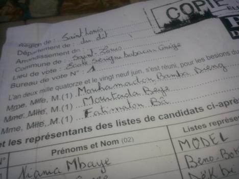 Vélingara reste au PDS, BBY prend 7 communes