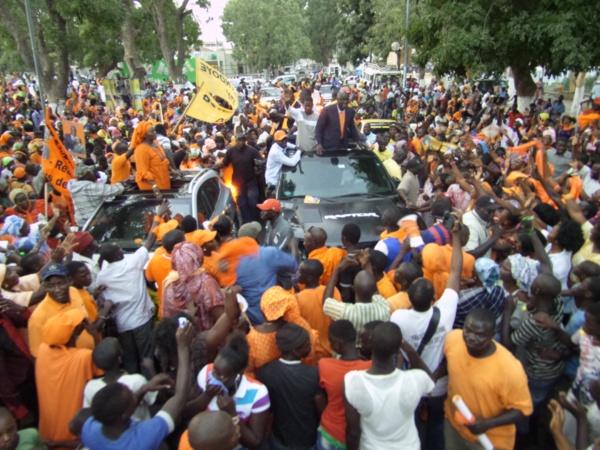 Locales à Thiès: Idrissa Seck a tout raflé