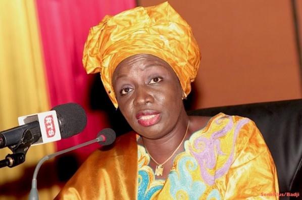 Urgent - Mimy Touré est présentement au Palais de la République