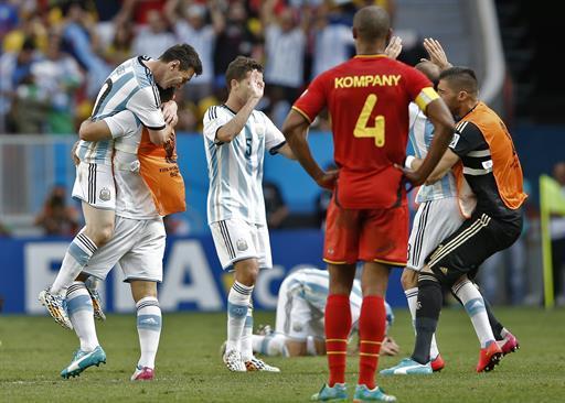 CDM2014: L'Argentine tient sa demie, la Belgique décevante