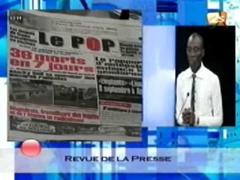 Revue de presse du jeudi 10 juillet 2014 -  2STV