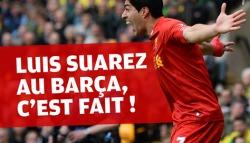 Officiel : Le Barça s'offre Luis Suarez !
