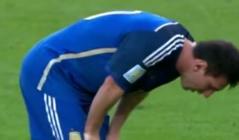 Vidéo: Messi vomit en finale du Mondial. Regardez