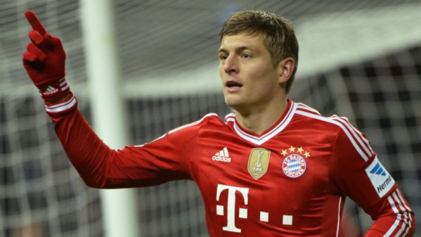 Toni Kroos, un surdoué allemand parmi les stars du Real Madrid