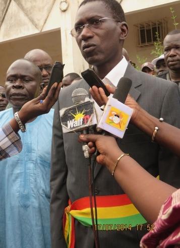Investiture de Magatte WADE, maire de Meckhé