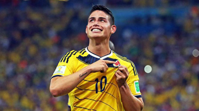 Officiel : Le Real Madrid s'offre James Rodriguez !