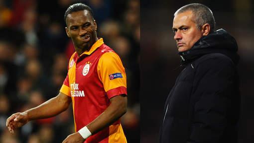"""Mourinho """"envisage"""" le retour de Drogba à Chelsea"""