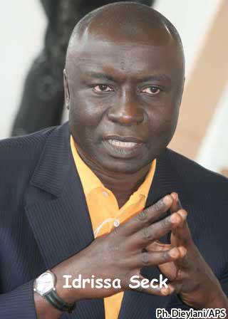 Idrissa Seck dresse l'opposition contre Macky Sall