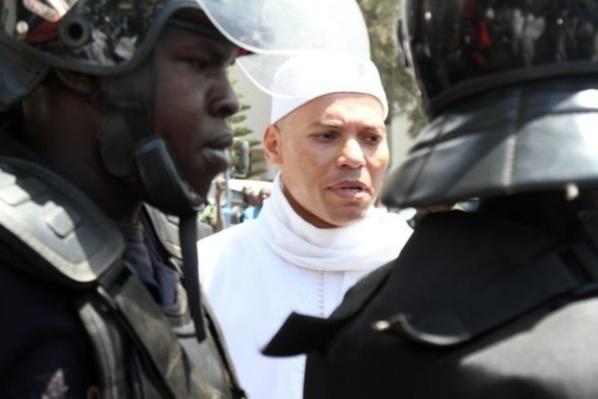 Dernière minute:  Karim Wade acheminé au Palais de Justice