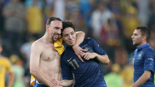 Franck Ribery – Samir Nasri : l'Euro 2016 s'éloigne