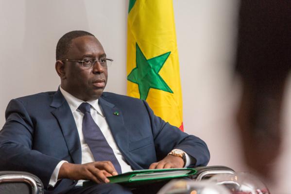 Macky Sall à Nouakchott