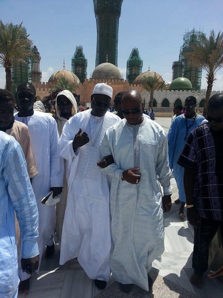 Khalifa Sall et Aminata Touré à Touba