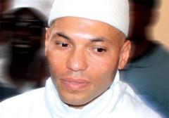 Audio - Palais de Justice: Karim Wade est arrivé !