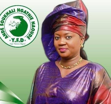 Ngathie Naoude : Yaye Fatou Diagne, l'ex de Ahmed Khalifa Niasse, élue maire