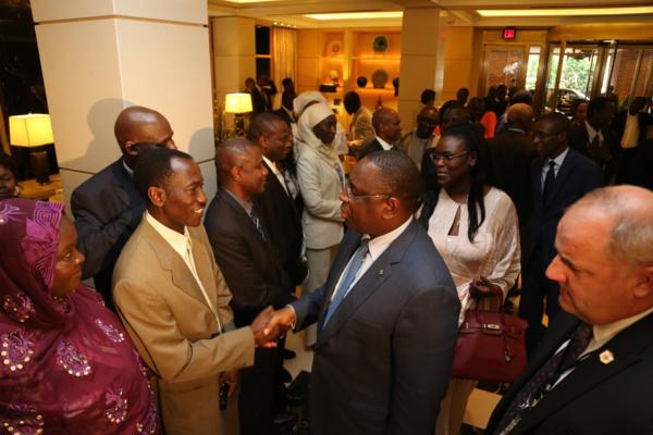 """Macky Sall aux Sénégalais des USA : """"Soutenez-moi que je puisse me concentrer sur ce qui va développer le Sénégal"""""""