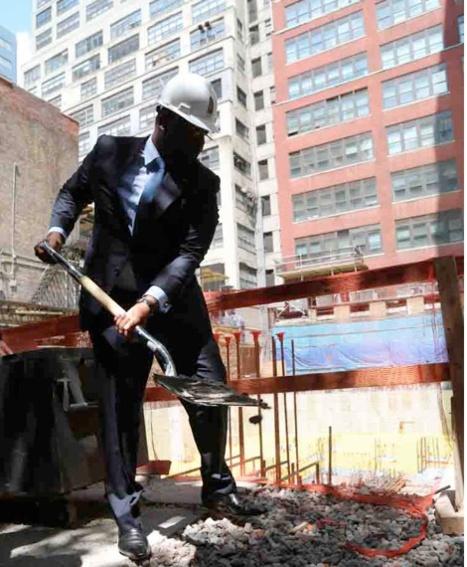 Maison du Sénégal à New York: Macky lance les travaux