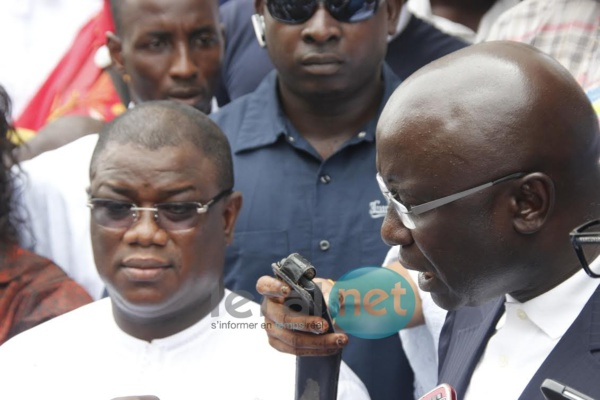 Idrissa Seck à la Crei pour soutenir Abdoulaye Baldé
