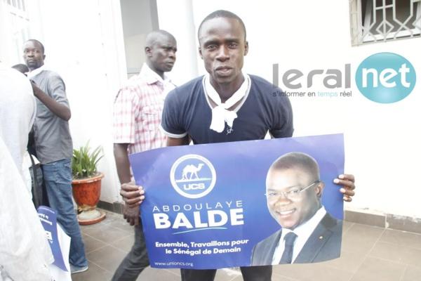 Photos - Abdoulaye Baldé : « Si ce n'est que le droit, je suis très serein… »