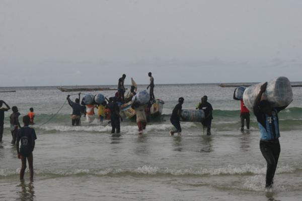 Les gendarmes mettent la main sur 12 ballots contenant 640kg de chanvre indien. Photo de Actusen.com