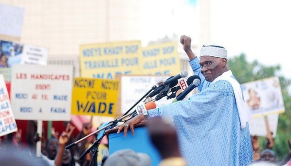 Place de l'Obélisque : Me Abdoulaye Wade apportera les réponses aux questions du peuple, samedi prochain