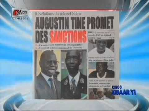 Revue de presse du mardi 19 Août 2014 - Tfm