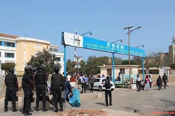 Retrait des policiers du campus social de l'Ucad : Un pas vers le retour à la normale