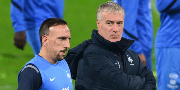 """Equipe de France - Deschamps: """"Franck a fait une annonce, après dans deux ans..."""""""