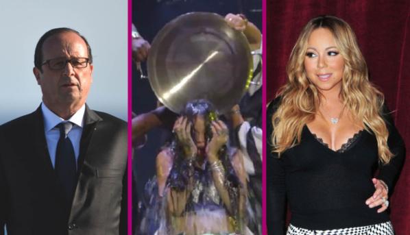François Holland critiqué, Mariah Carey déçue et Rihanna Mouillée