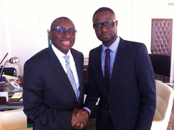 Me Sidiki Kaba et Dr Seydou Kanté, deux Tambacoundois unis pour la même cause : le développement de leur terroir