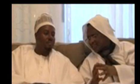 VIDEO. Serigne Bass Abdou Khadre reçoit Serigne Modou Kara Noreyni dans sa nouvelle  maison sise sur la VDN