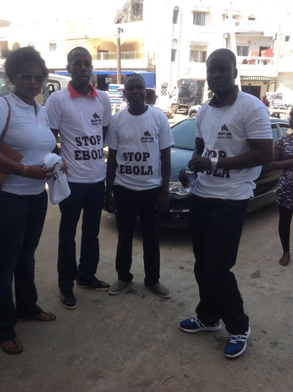 Photos: Journée de sensibilisation sur Ebola à Grand-Yoff