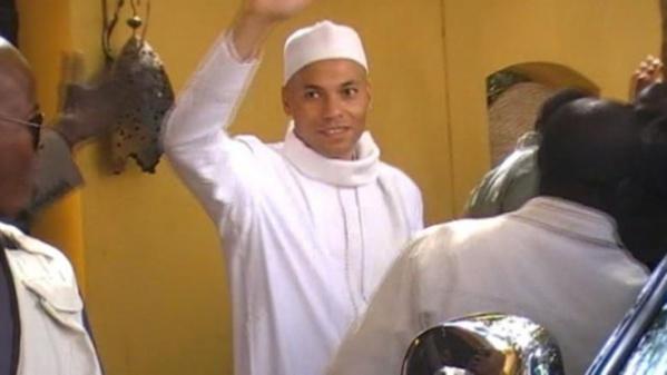 """Karim à ses visiteurs : """"Dites au Khalife que Serigne Touba m'a offert assez de force pour subir dignement cette injustice"""""""