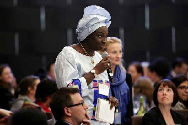 Mimi Touré dans le cercle des femmes leaders